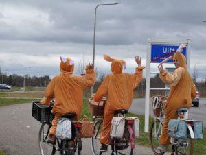Basil komt naar je toe! Paasactie in Arnhem