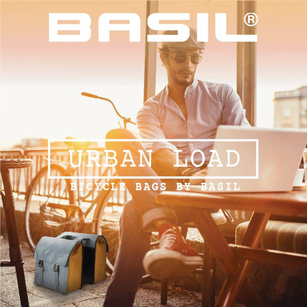 Basil introduces new series of bicycle bags: Urban Load