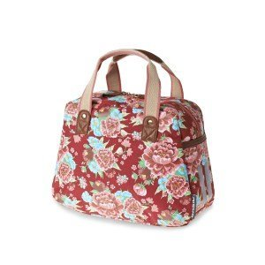 Basil Bloom Kids Carry All - bicycle bag - 11L - red with flowers