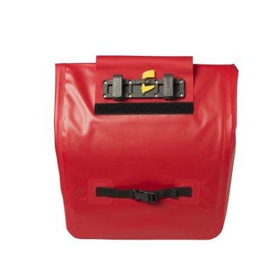 Basil Urban Dry - fietsschopper - 20-25L - rood