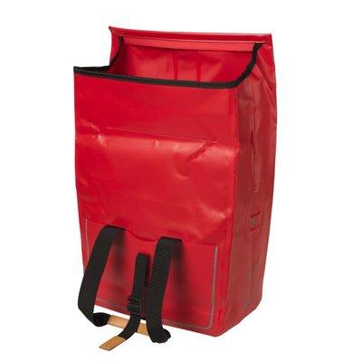 Basil Urban Dry - fietsschopper - 20L - rood