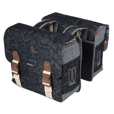 Basil Bohème - double bag - 35L - charcoal