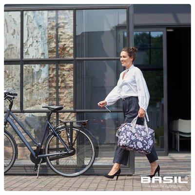 Basil Magnolia - enkele fietstas - fietsschoudertas - 18L - pastel powders