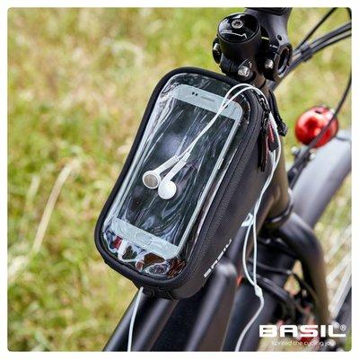 Basil Sport Design - rahmentasche - 1L - schwarz
