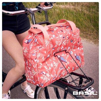 Basil Wanderlust Carry All Bag - fahrradhandtasche - 18L - rot