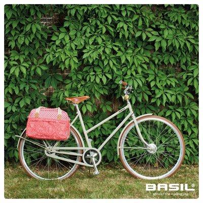 Basil Boheme Carry All - enkele fietstas - fietsschoudertas- 18L - rood