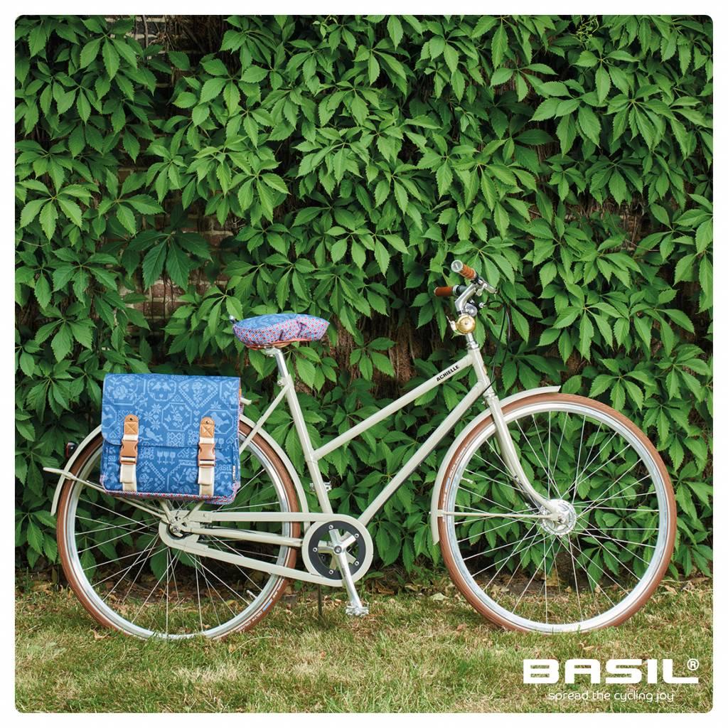 Basil Fahrradtasche Doppelt Fahrradkorb Korb Fuer Fahrrad