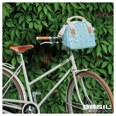 Basil Boheme City Bag - lenkertasche - fahrradschultertasche - fahrradhandtasche - 7L - grun