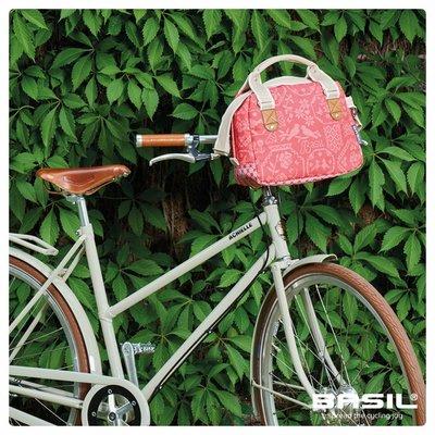 Basil Boheme City Bag - lenkertasche - fahrradschultertasche - fahrradhandtasche - 7L - rot
