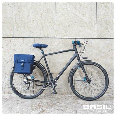 Basil GO Saddle Cover - zadelhoes - denim blauw
