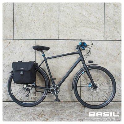 Basil GO Saddle Cover - sattelbezug - schwarz