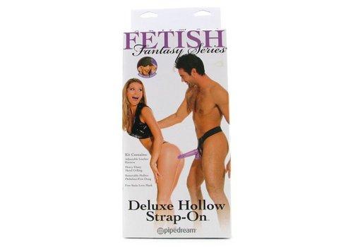 Purple Delight Hollow Strap-On