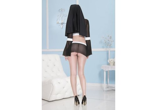 Sexy Nonnenkostuum
