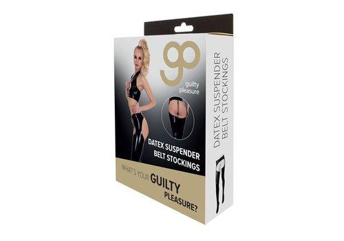 GP Datex Panty Met Open Kruis - Zwart