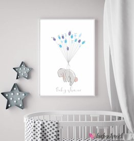 Baby Shower Fingerprint-Set