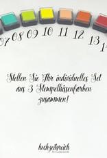 Baby Shower Fingerprint-Set Bärchen