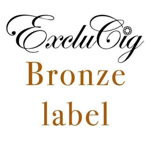 Exclucig Bronze label