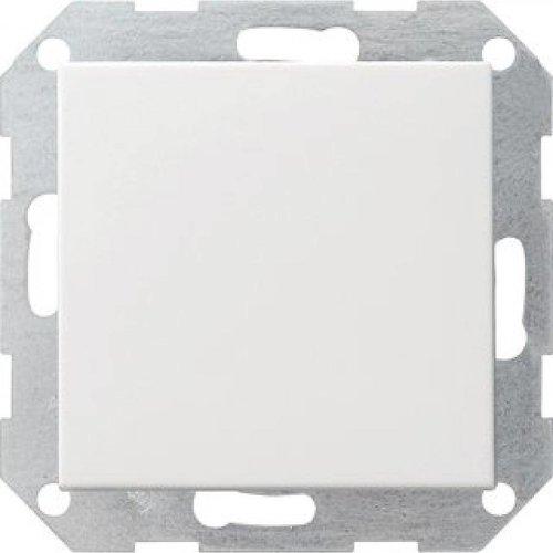 Drukvlakschakelaars Systeem 55 wit (mat)
