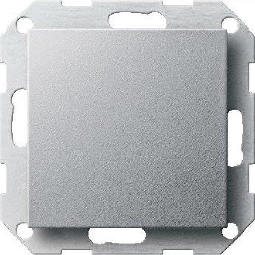 Drukvlakschakelaars Systeem 55 aluminium (mat)