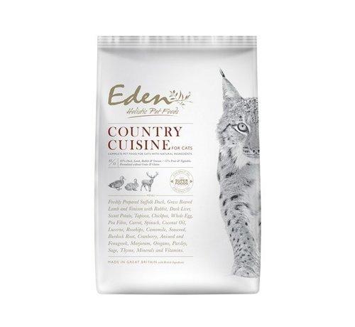 Eden Eden Cat Country Cuisine 4 kg (eend, lam, hert & konijn)