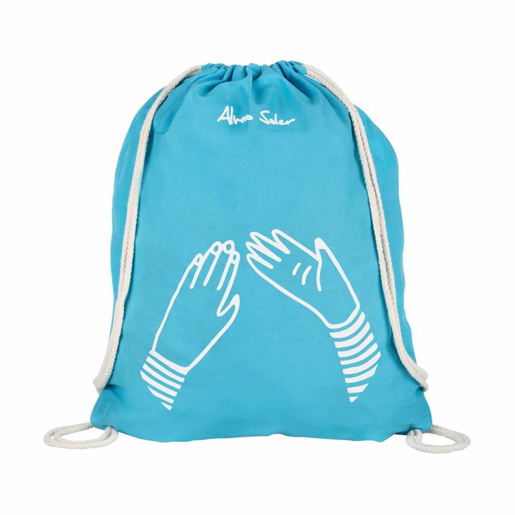 "Matchbag ""Que Pasa"" blau"