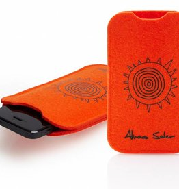 "Phone Case ""cuando volveràs"" orange"