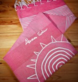 """Strandtuch """"El Mismo Sol"""" pink"""