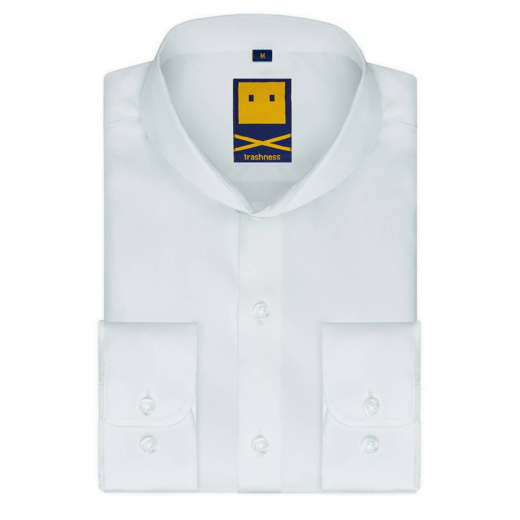 Trashness Extreme Cutaway White Shirt Trashness