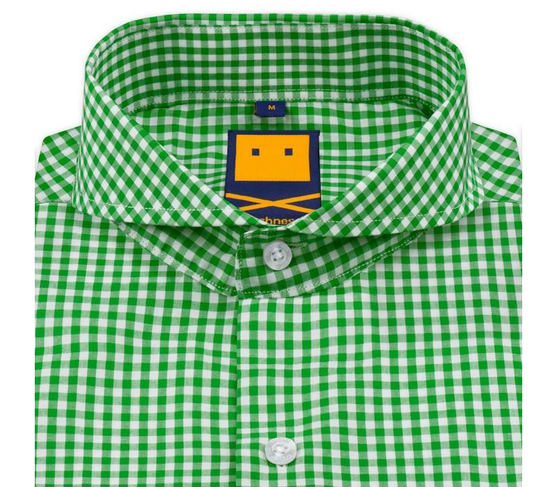 EXTREME CUTAWAY LIME SHIRT