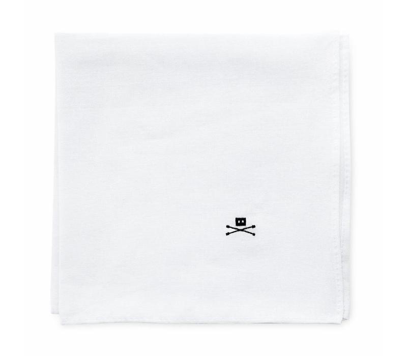POCKET SQUARE WHITE