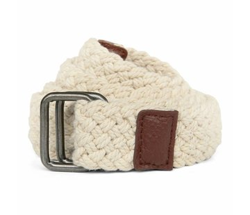 Trashness BRAIDED BELT OFF-WHITE