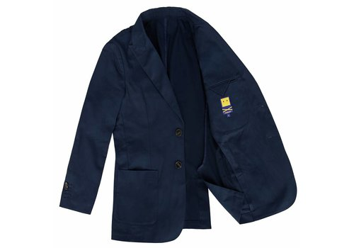 UNCONSTRUCTED JACKET NAVY