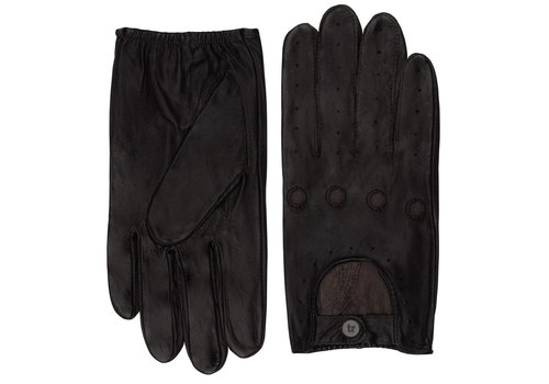 DRIVING GLOVES DARK-BROWN