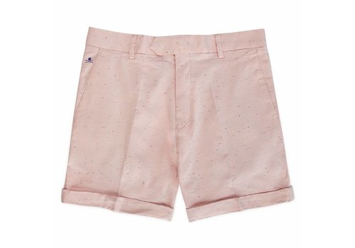 SALMON SPECKLED SHORTS