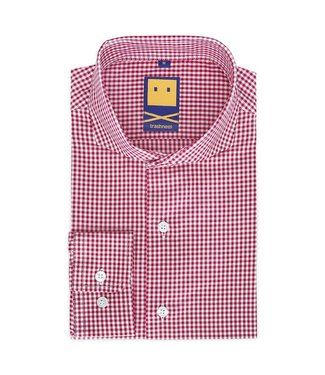 Trashness CUTAWAY GINGHAM RED SHIRT