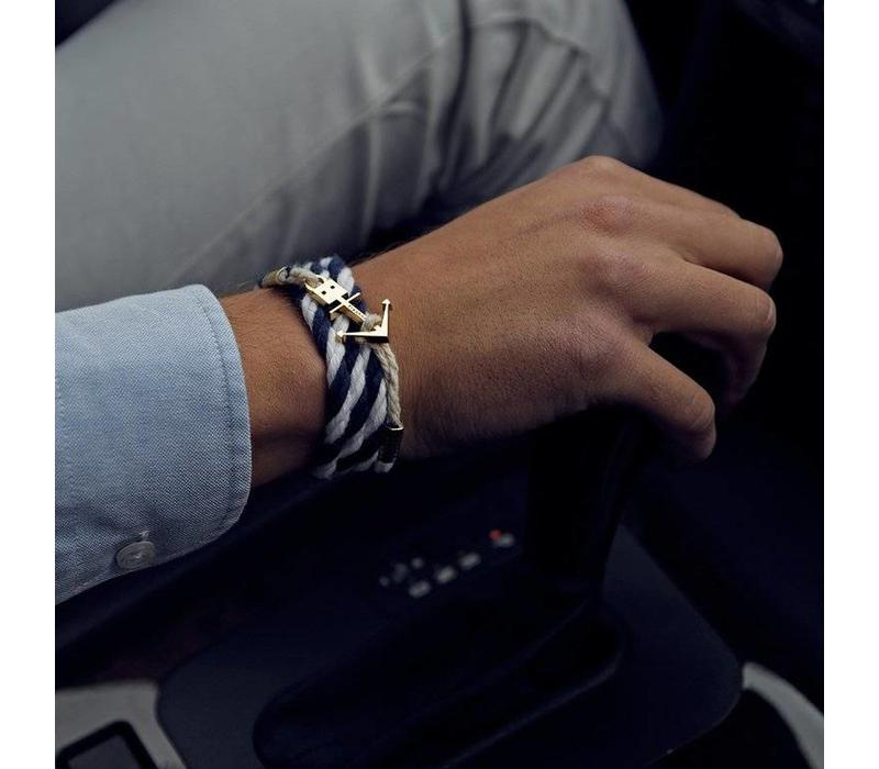 ANCHOR BRACELET NAVY