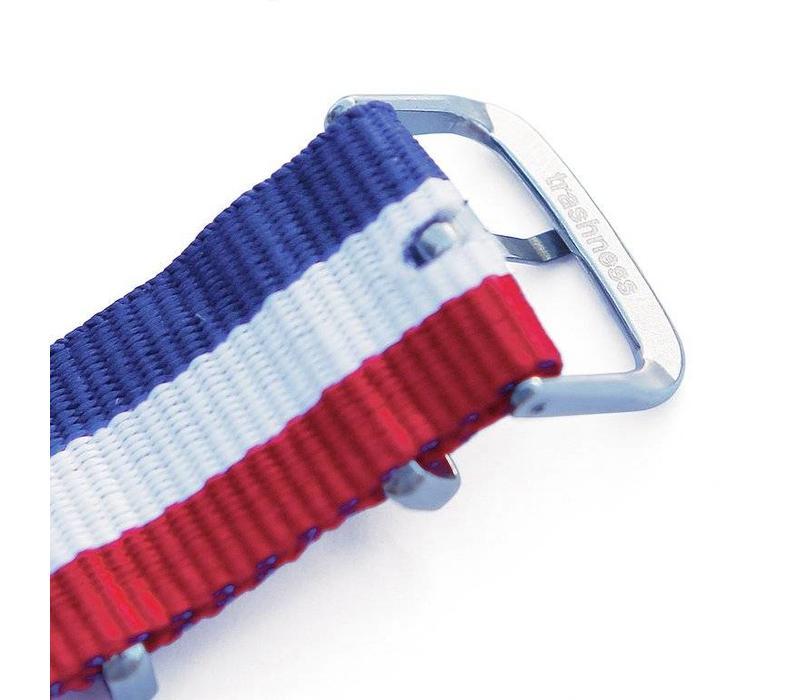 NATO STRAP RED/WHITE/BLUE