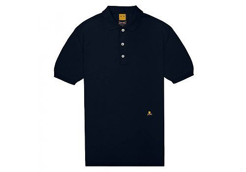 Trashness Navy Polo