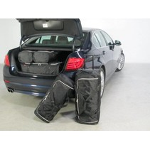 BMW 5 series (F10) 4d - 2010 en verder trolley bags placed transversely to driving direction - Car-bags tassen B11201S