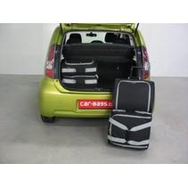 Subaru Justy IV (M300F) 5d - 2007-2011 low boot floor: no organiser, no 4WD - Car-bags tassen S40101S