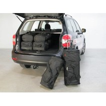 Subaru Forester (SJ) SUV - 2013 en verder high boot floor: with organiser or with 4WD - Car-bags tassen S40201S