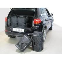 Volkswagen Tiguan (5N) low boot floor SUV - 2007-2015  - Car-bags tassen V11001S
