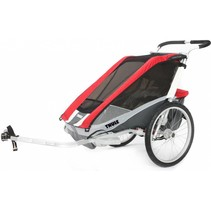Thule Chariot Cougar 2 Rood
