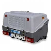 Towbox V1 Grijs -  Bagagebox op trekhaak