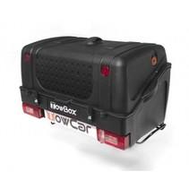 Towbox V1 Zwart -  Bagagebox op trekhaak