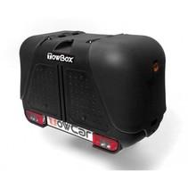 Towbox V2 Zwart -  Bagagebox op trekhaak