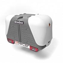 Towbox V2 Grijs -  Bagagebox op trekhaak