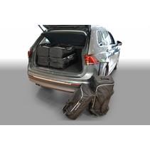 Volkswagen Tiguan II (hoge laadvloer: met organiser) SUV - 2015 en verder for 5 seater & for 7 seater with 3rd row of seats folded down - Car-bags tassen V12601S