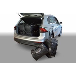 Car-Bags Volkswagen Tiguan II (diepe laadvloer: geen organiser) SUV - 2015 en verder  - Car-bags tassen V12701S