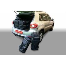 Volkswagen Tiguan (5N) (verhoogde laadvloer: met organiser) SUV - 2007-2015 high boot floor: with organiser - Car-bags tassen V12801S